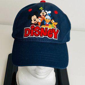 DISNEY CHARACTERS NAVY BLUE HAT/CAP